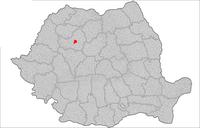 Läge för Cluj-Napoca