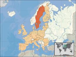 Sveriges läge