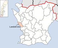 Landskrona kommun i Skåne län