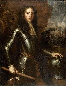 Vilhelm III av England. Porträtt av sir Peter Lely