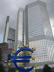 Frankfurt, European Central Bank with Euro-2.jpg