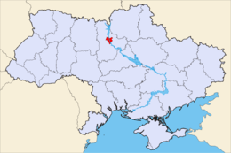Kievs läge