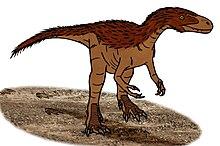 Illustration av Eotyrannus.