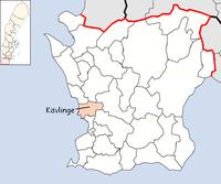 Kävlinge kommun i Skåne län