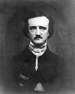 Denna daguerreotyp av Poe togs 1848 när han var 39, ett år före hans död.