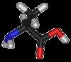 Annan modell av alaninmolekyl.