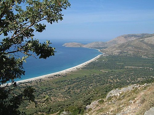 Coastline in Albania.jpg