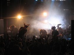 In Flames, live i Trondheim 2007