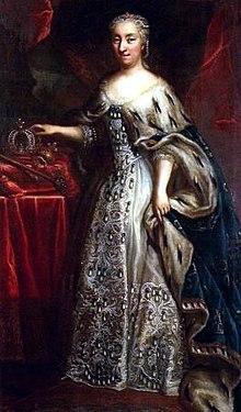 Regerande drottning Ulrika Eleonoraav Sverige