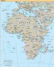 Karta Afrikas Ostkust.Afrika Rilpedia