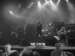 Phil Campell, Lemmy och Mikkey Dee live i Stockholm 2007