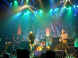 The Black Crowes live 2005