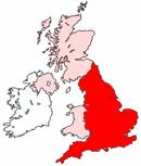 Skottlands läge inom Förenade kungariket