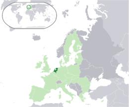 Nederländernas läge