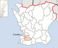 Svedala kommun i Skåne län