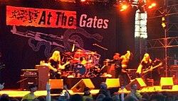At the Gates på Sweden Rock Festival, 2008.