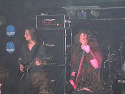 "Dies Irae under ""The Ultimate Domination Tour"" 2005."
