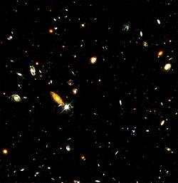 Hubbles djuprymdsbild