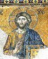 Kristus Den mest berömda av de kvarvarande mosaikerna i Hagia Sofia i Istanbul (tidigare Konstantinopel).