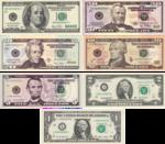 Dollarsedlar.