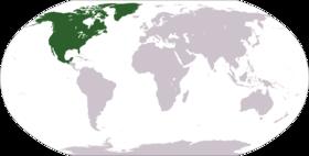 Nord i världen.