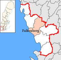 Falkenbergs kommun i Hallands län