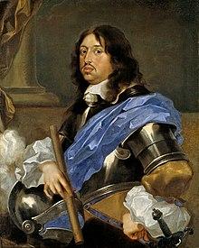 Kung Karl X Gustav av Sverige (porträtt av Sébastien Bourdon 1652-1653)