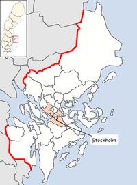 Stockholms kommun i Stockholms län