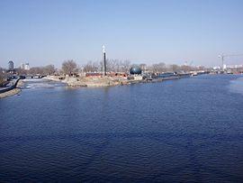 Haifloden i Tianjin.