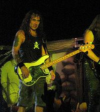 Steve Harris med Iron Maiden 2006