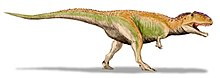 Giganotosaurus, teckning av ArthurWeasley
