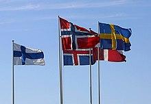 En stor majoritet av länets invånare är födda i Norden