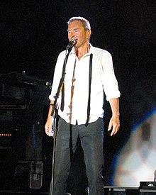 Ledin under Rocktåget sommaren 2006.