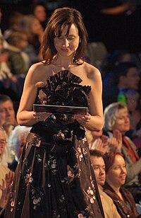 Petra Mede, programledare för Melodifestivalen 2009. Foto: Daniel Åhs Karlsson
