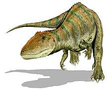 Carcharodontosaurus Teckning ArthurWeasley