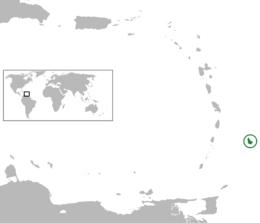 Barbados läge