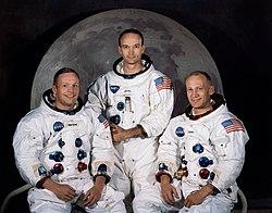 Armstrong, Collins och Aldrin