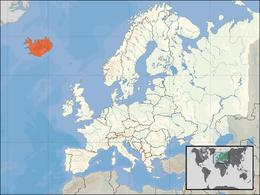 Islands läge
