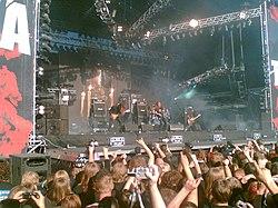 Opeth på Tuska Open Air, Finland, 2006