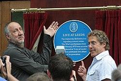 Pete Townshend och Roger Daltrey.