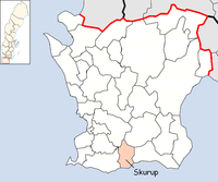 Skurups kommun i Skåne län
