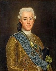 Kung Gustav III av Sverige (av Alexander Roslin 1775)