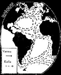 Atlantiska havet, Strömmar, Nordisk familjebok.png