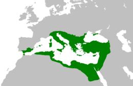 Bysantiska rikets läge