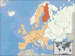 Finlands läge