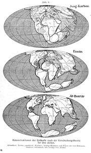 Alfred Wegener Die Entstehung der Kontinente und Ozeane 1929.jpg