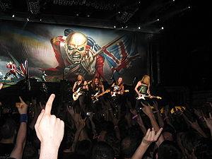 Iron Maiden 2008 i Paris