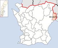 Bromölla kommun i Skåne län