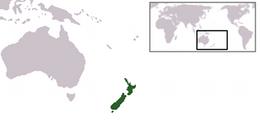 Nya Zeelands läge
