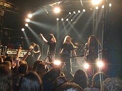 Meshuggah i Wien 2008
